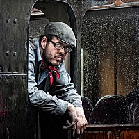 Beamish Train Driver-John Smith-Gtaeshead-2