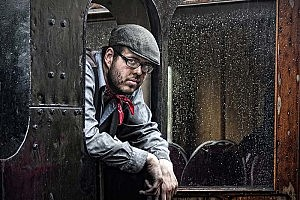 """Beamish Train Driver"" by John Smith Gateshead CC"