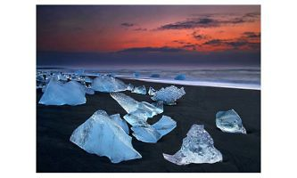 Ice Beach, Iceland_John Webster_England_NCPF Ribbons (Commended)