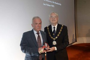 Leo Palmer Awarded Fenton Medal By RPS