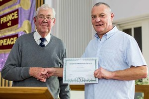 Davy Bolam of Morpeth CC Awarded APAGB