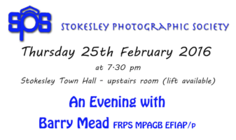 An Evening With Barry Mead At Stokesley PS