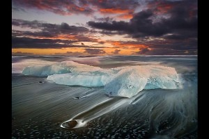 """Ice Beach"" by john Webster"