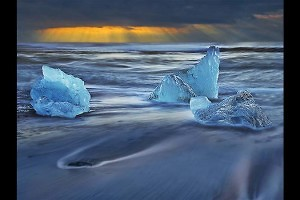 """Ice at Dawn"" by John Webster"