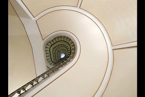 """Barcelona Stairwell"" by Trish Newey-King"