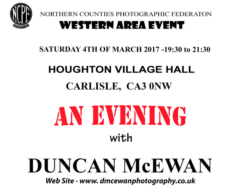 An Evening With Duncan McEwan