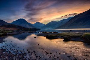 """Wasdale Dawn"" by Adrian Gidney Copeland PS"