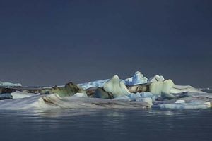 "'Jokulsarlon at Night"" by Keith Snell"